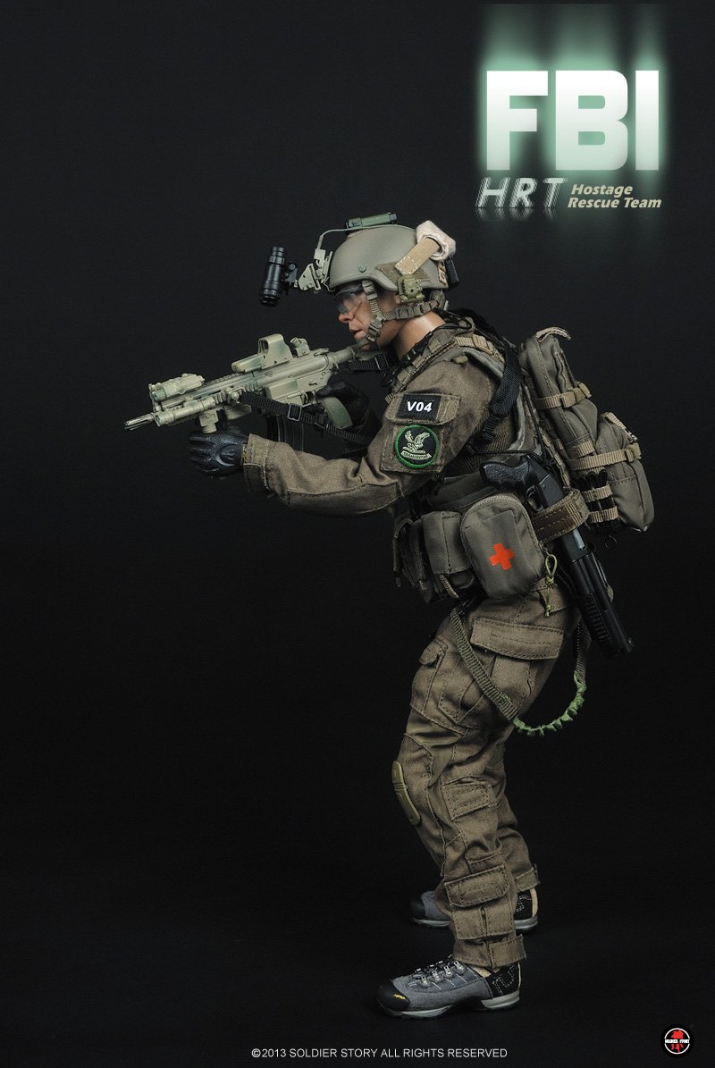 onesixthscalepictures: Soldier Story FBI HRT (Hostage