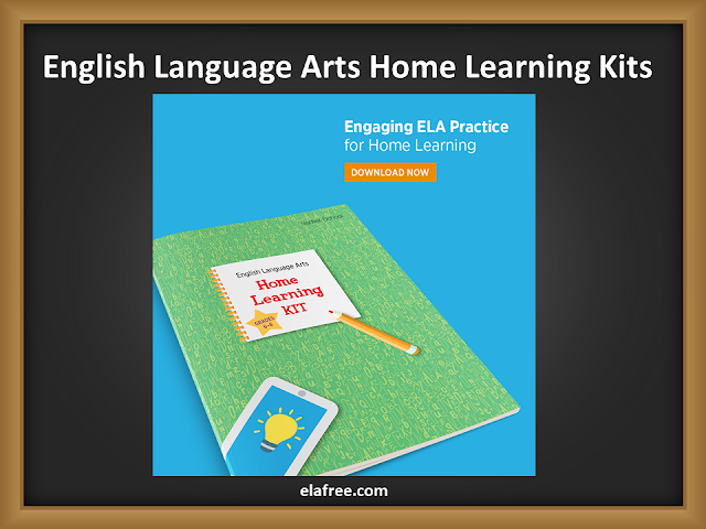 English Language Arts Home Learning Kits for Grades K–12 - Sadlier