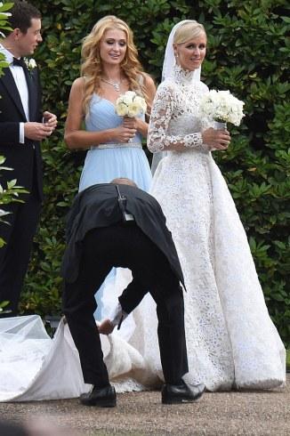 nicki hilton and james rothschild wedding pictures
