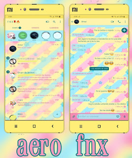 Stars Theme For YOWhatsApp & Aero WhatsApp By Ave fénix
