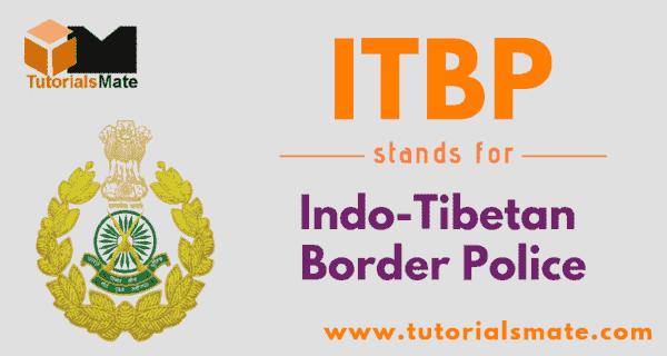 ITBP Full Form