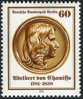 Germany Berlin Adelbert von Chamisso, Poet, 1981
