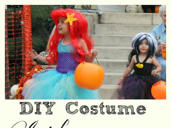 DIY Ariel and Ursula Costume