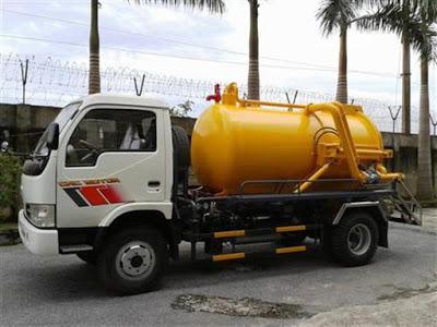 Lựa chọn xe hút bể phốt 3 khối tại Nam Định