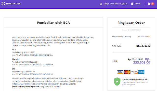 Tutorial Cara Sewa Hosting Gratis Domain di Hostinger.co.id
