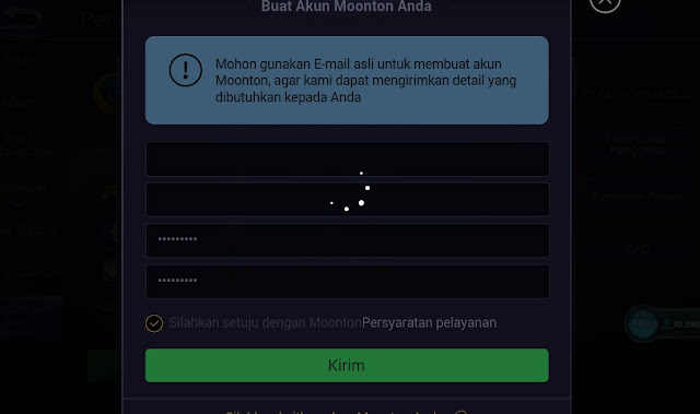 gagal daftar akun moonton di ML