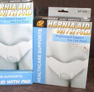 Celana Hernia Aid With Pad / Celana Hernia Sabuk Hernia