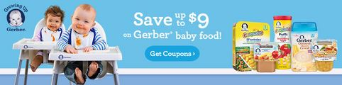 Baby product coupons print now