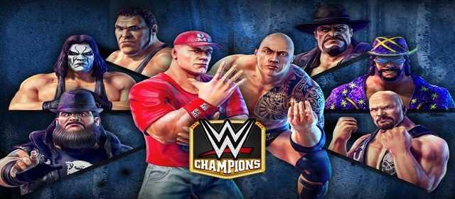 WWE Champions v0.377 android mod hileli apk indir