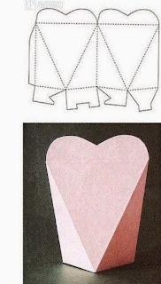 Geometrik Şekillerde Hediye Paketi Yapımı, Resimli Açıklamalı  5
