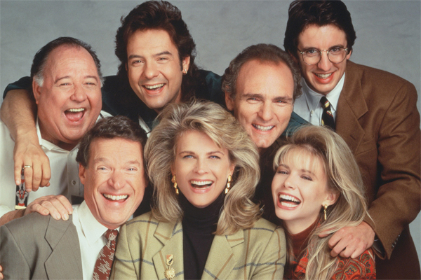 image of the cast of Murphy Brown