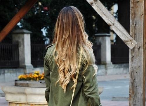 dark brown dip dye hair extensions hair color