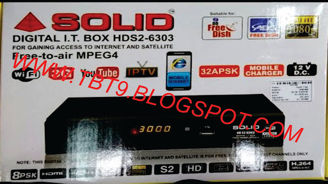 SOLID 6303 & 6363 RECEIVER NEW POWERVU SOFTWARE WITH NEW LOOK  SONY NETWORK OK