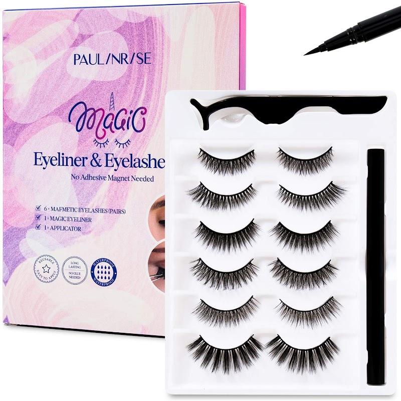 50% OFF Magic Eyeliner and Eyelashes Kit