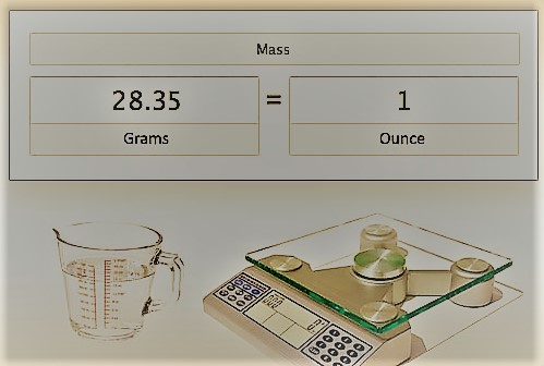 how many grams in an ounce - 499×336