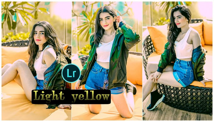lightroom light yellow presets free download
