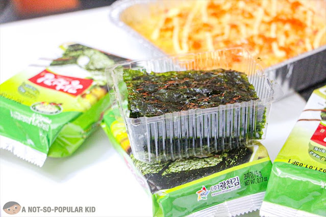 Seaweed in Olive Oil for Nama Baked Sushi