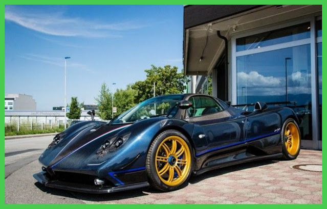 Pagani Zonda owned by Lionel Messi