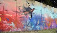 Kingsgrove Public Art   Canal to Creek Street Art by Jason Wing