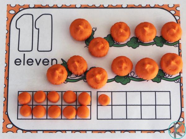 pumpkin kindergarten math