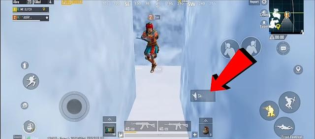 PUBG Mobile Winter Update Frost Festival glitches