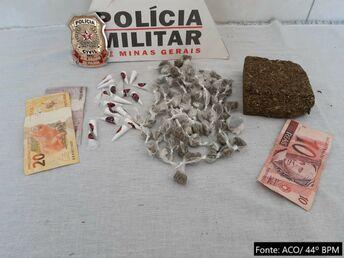 PM e PC de Jequitinhonha desarticulam quadrilha de tráfico de drogas