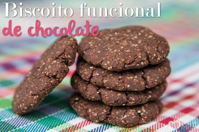 Biscoito Funcional de Chocolate