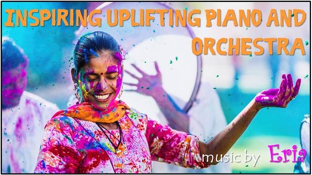 Inspiring Uplifting Piano and Orchestra