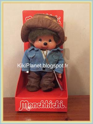 le Monchhichi Western boy, cowboy