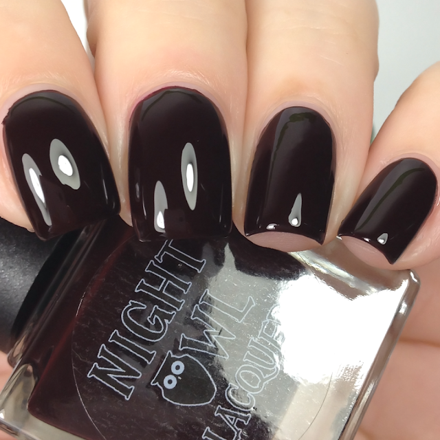 Night Owl Lacquer-Dark Hearted