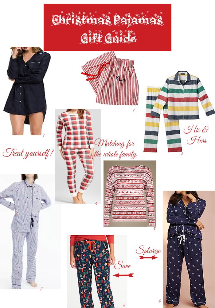 Christmas Pajamas Gift Guide