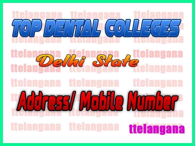 Top Dental Colleges in Delhi