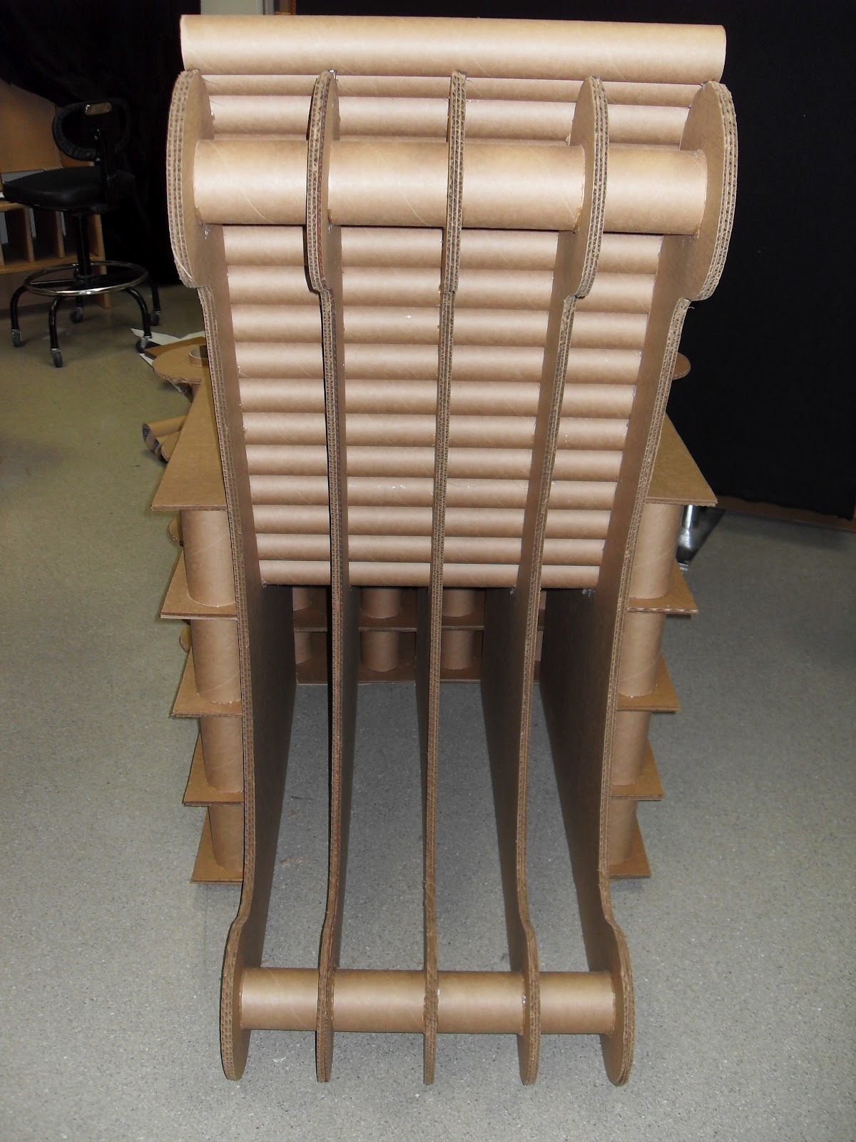 UW Design Gallery 2012 Archive: The Cardboard Throne