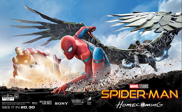SPIDER-MAN : HOMECOMING (2017)