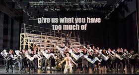 Martinu: The Greek Passion - John Savournin & chorus - Opera North (Photo Tristram Kenton)