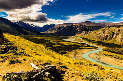 Valle del Río de las Vueltas - Parque Nacional de los Glaciares