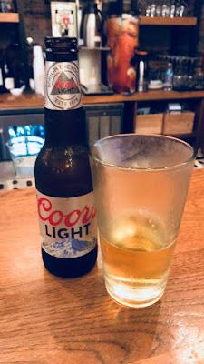 Coors Light, always a Colorado staple