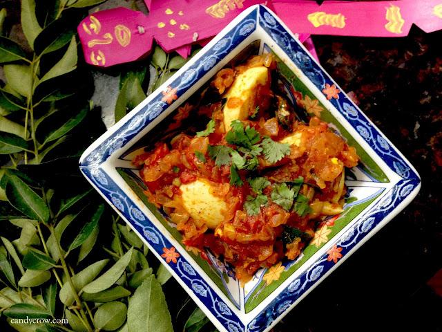 Easy Egg Thokku Recipe PHOTOS
