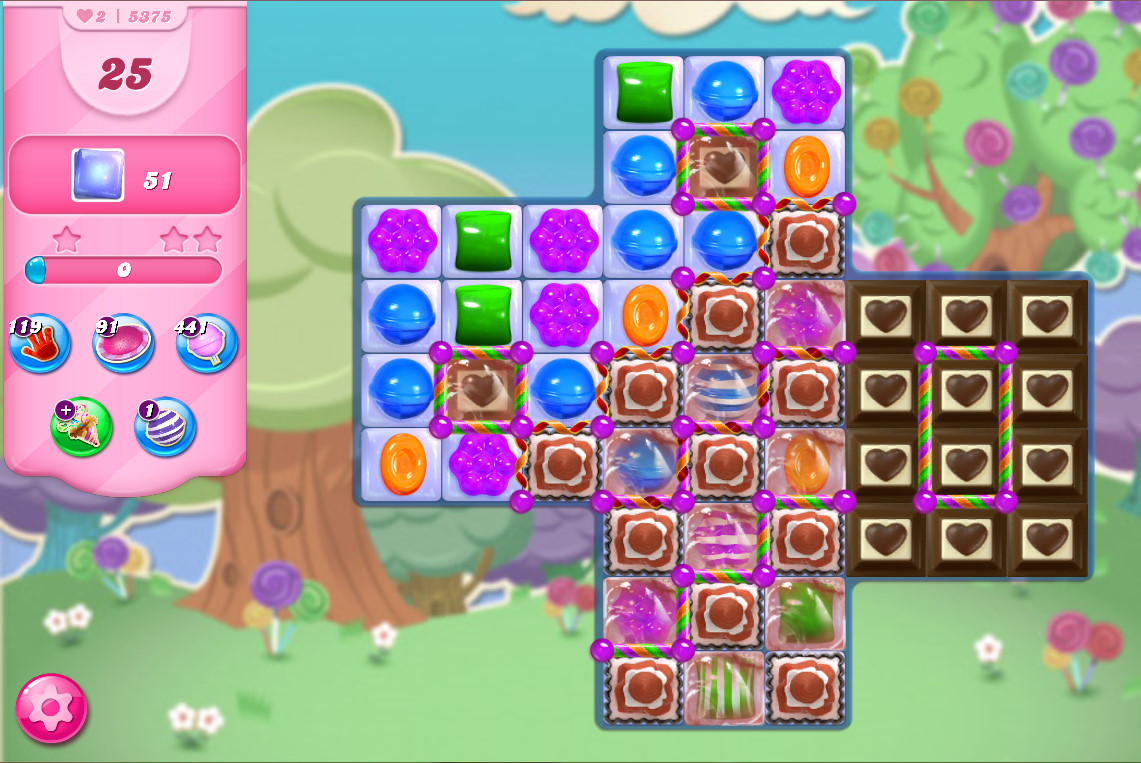 Candy Crush Saga level 5375