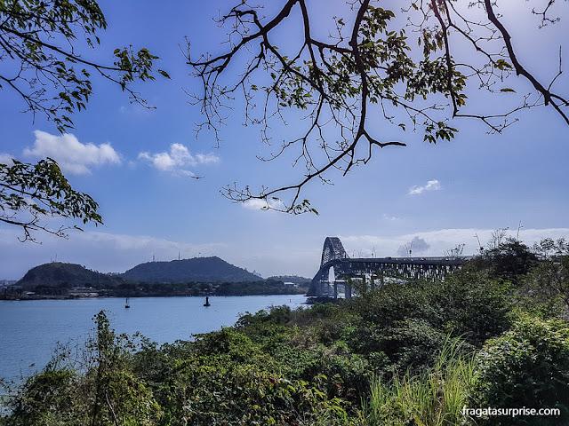 Ponte das Américas, Canal do Panamá