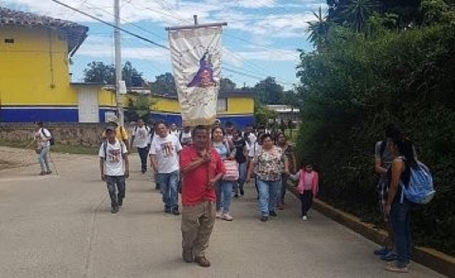 Peregrinos de a pie se prepara para visitar Jalacingo