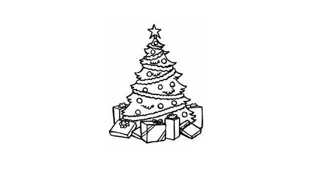 dibujos faciles de navidad