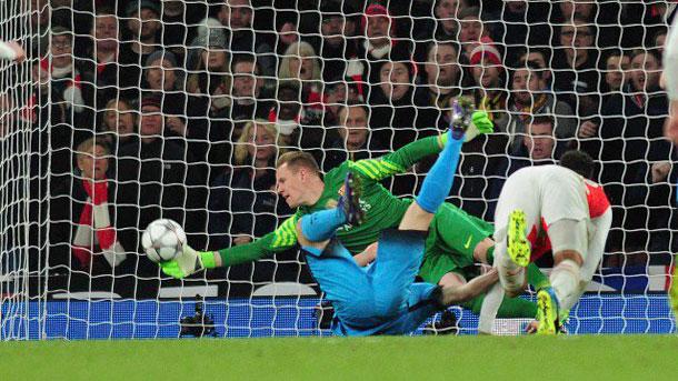 Giroud lamenta la derrota del Arsenal contra el Barça