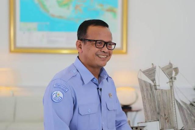 Edhy Prabowo Menteri Kelautan dan Perikanan Ditangkap