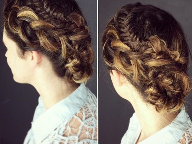 Beautiful 2 hairstyles For Doll
