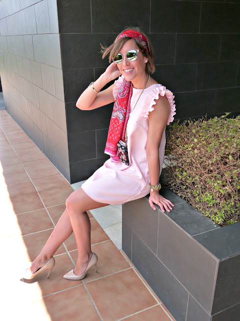 Fitness And Chicness-Light Pink Dress Vestido y Tacon-8