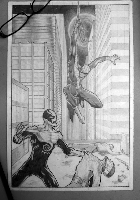 Spider-Man Comissioned drawing