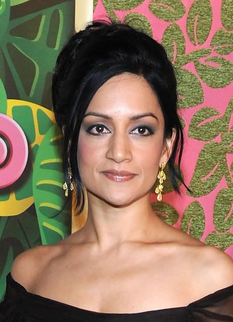 Actress Archie Panjabi Latest Hot Photos In Black Outfits Actress Trend