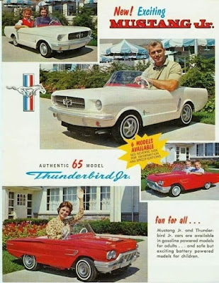 Mustange Jr and Thunderbird Jr