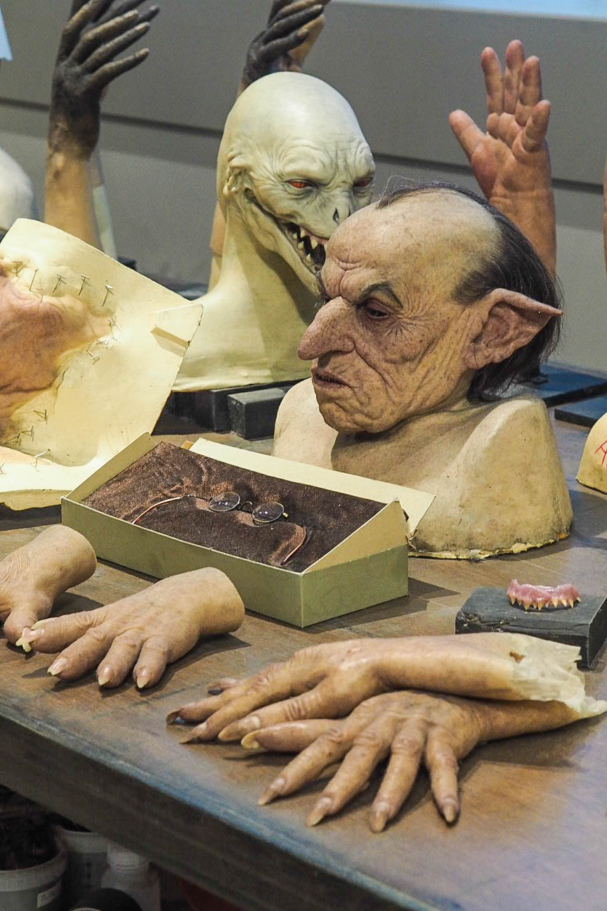 Harry Potter goblin prosthetic masks